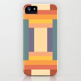 Soft Color Pattern iPhone Case