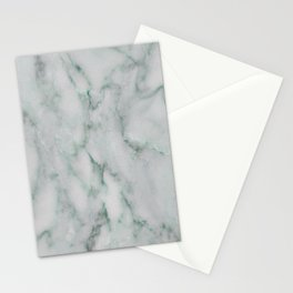 Ariana verde - smoky teal marble Stationery Cards