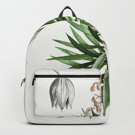 Spanish dagger (Yucca gloriosa) from Traite des Arbres et Arbustes que lon cultive en France en plei Backpack