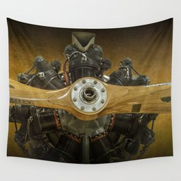 Airplane Propeller of a Fairchild PT-23 Cornell Monoplane Wall Tapestry