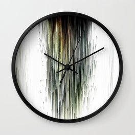 Planet Pixel Dust Up Wall Clock