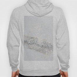 Silver Gray Glitter #3 #shiny #decor #art #society6 Hoody