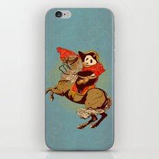 The Panda's Ride  iPhone & iPod Skin