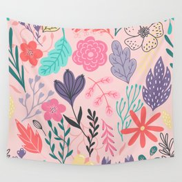 Nature Colorful Blush Wandbehang