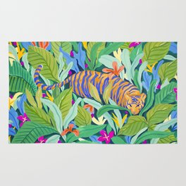 Colorful Jungle Rug