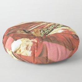 Deserted on a dessert Floor Pillow