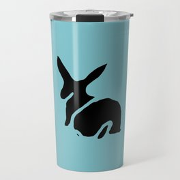 Rabbit Stamp Travel Mug
