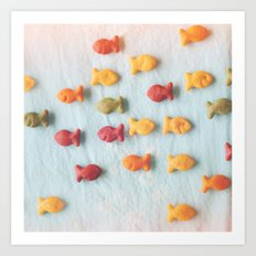 Plenty of Fish Art Print
