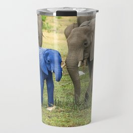 Its a Boy - Blue Baby Elephant Travel Mug