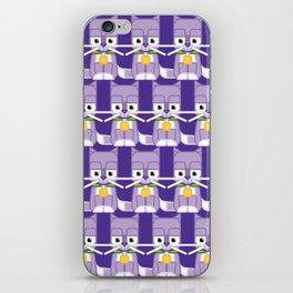 Super cute animals - Cute Kitty Cat Purple iPhone Skin