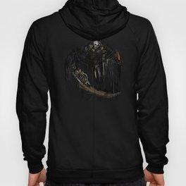 Gravelord Nito - Dark Souls (black tee PNG edition) Hoody
