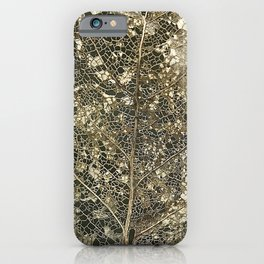 Old gold iPhone Case