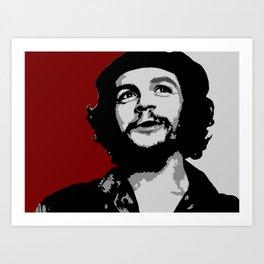 Ernesto Che Guevara smile Art Print