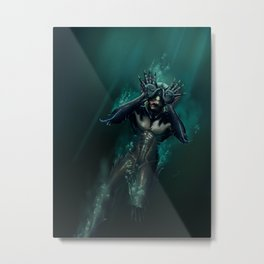 Guillermo's Monster Metal Print