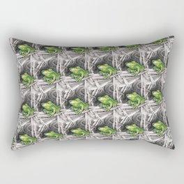 Frog - Just Hangin' Out Rectangular Pillow