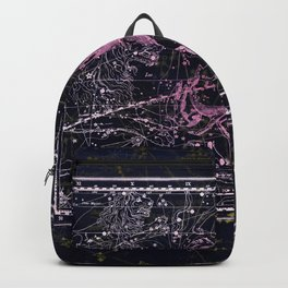 Cancer   Constellation map   Zodiac   Sign sky   Stars   Universe Backpack
