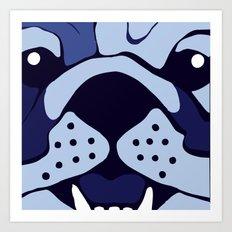 Bluedog Art Print