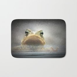 Frog from Front Painting Style Bath Mat