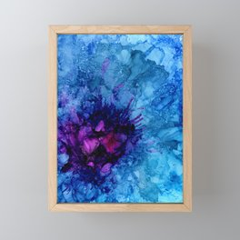 Amethyst Freeze Framed Mini Art Print
