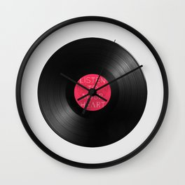 heart Wall Clock