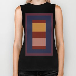 Rectangle layout Biker Tank