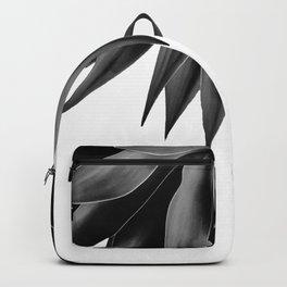 Agave fringe - noir Backpack
