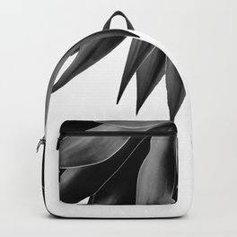 Agave fringe - noir Backpack