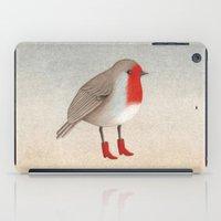 robin iPad Cases featuring Robin by Hana Stupica