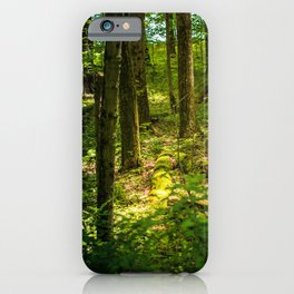 Finding the Light in the Darkness iPhone Case