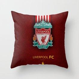 Fc Liverpool My Favorite Sport Team Throw Pillow