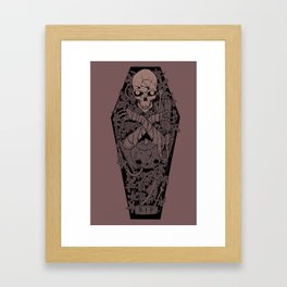 Ashes to ashes. Dust to dust. Framed Art Print