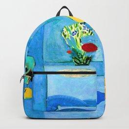 Henri Matisse Blue Window Backpack
