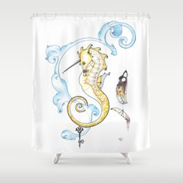 Harness Shower Curtain