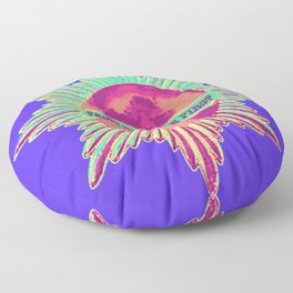 Earth Must Be First: Priorities Floor Pillow