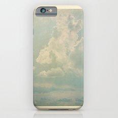 Vieja postal del cielo iPhone 6s Slim Case