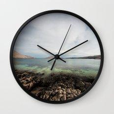 Under horizon Wall Clock