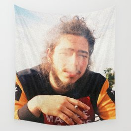 Smoky Posty Wall Tapestry