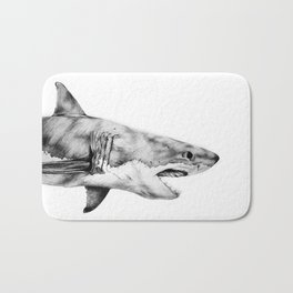 Great White Shark Bath Mat