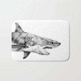 Great White Shark Bath Mat