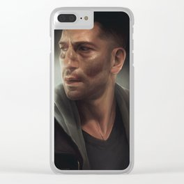 one batch, two batch... Clear iPhone Case