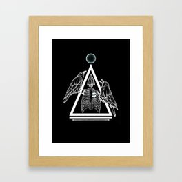 Bird Cage Invert Framed Art Print