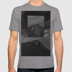 Marumbi peak X-LARGE Mens Fitted Tee Tri-Grey