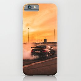 burn-out iPhone Case