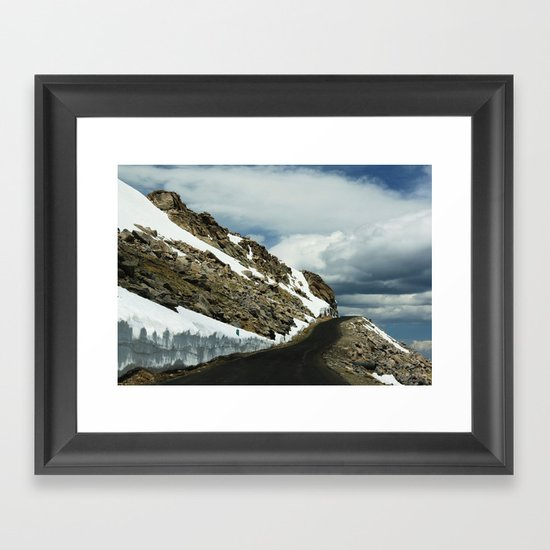 Mile 11 Framed Art Print