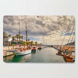 Harbour at Cartagena Cutting Board