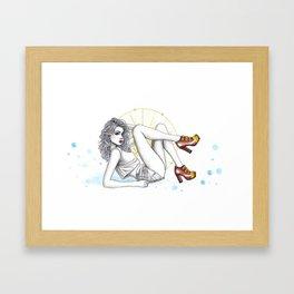 CL Shoes 05 Framed Art Print