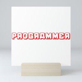 Programmer Mini Art Print