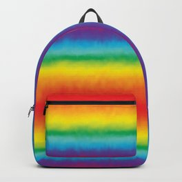 Watercolor Rainbow Backpack