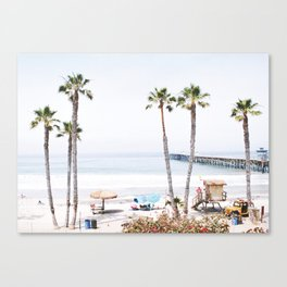 Palm Beach Canvas Print