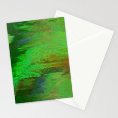 07-030-14 (City Reflection Glitch) Stationery Cards